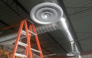 Commercial Spiral Ductwork