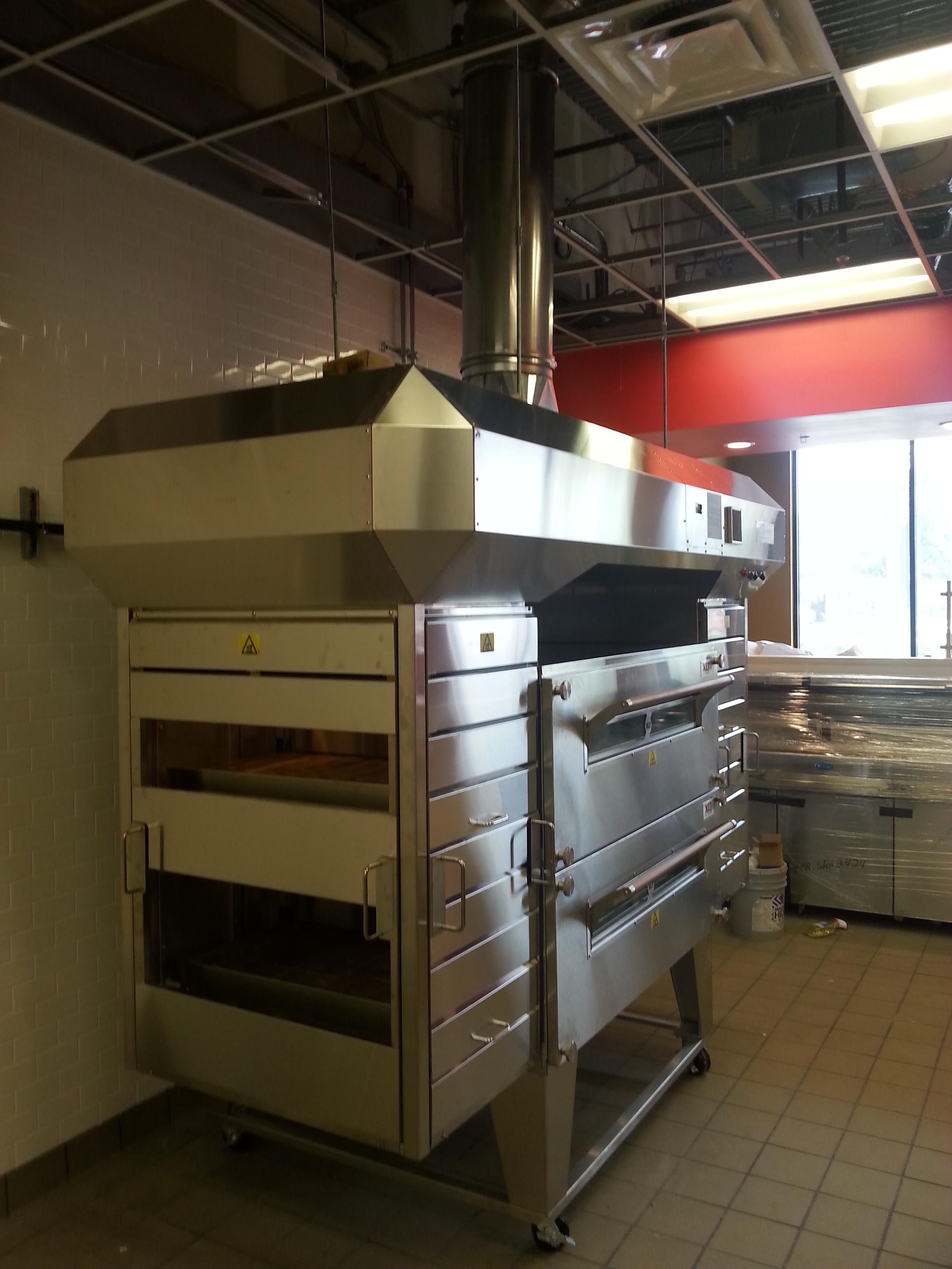 Dominos East Orlando - New Exhaust Hood and Ovens