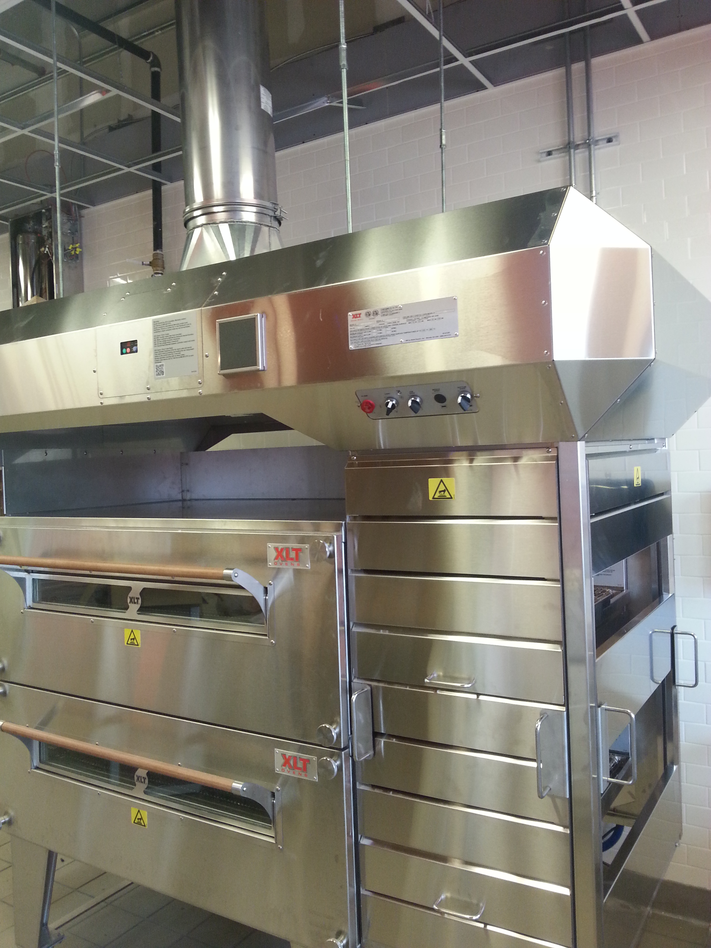 Dominos New Smyrna Beach - New Exhaust Hood and ovens